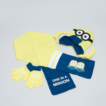 Minions Printed 3-Piece Accessory Set