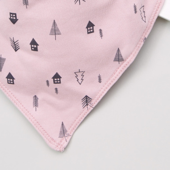 Juniors Printed Dribble Bib