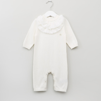 Giggles Round Neck Long Sleeves Sleepsuit