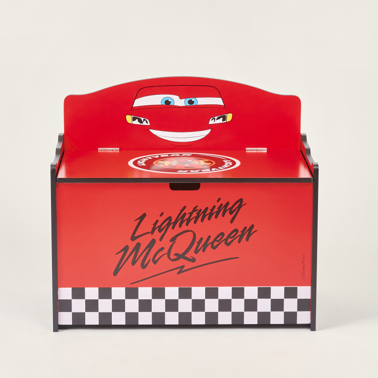 Disney Cars Print Toy Box