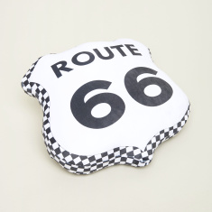 Cars Graphic Print Cushion - 40x40 cms