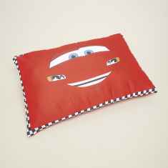 Cars Print Square Cushion - 40x40 cms