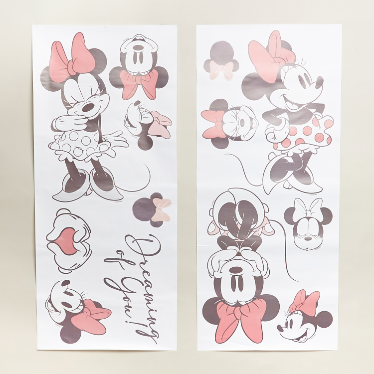 Minnie Mouse Print Wall Decor