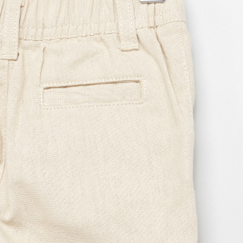 Giggles Pocket Detail Pants with Elasticised Waistband