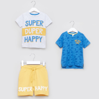 Juniors Printed 3-Piece Clothing Set