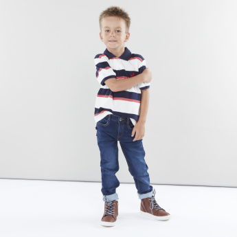 Juniors Full Length Jeans with Side Pockets