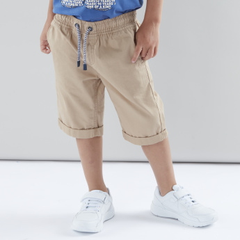 Juniors Basic Shorts with Elasticised Waistband