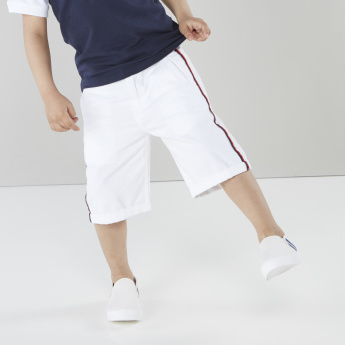Juniors Flat-Front Shorts with Insert Pockets