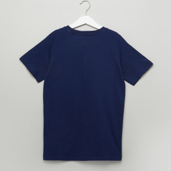 Lee Cooper Henley Neck Short Sleeves T-Shirt