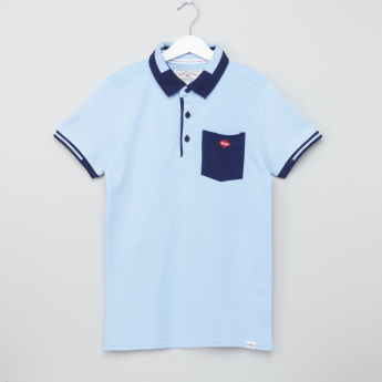 Lee Cooper Polo Neck T-Shirt