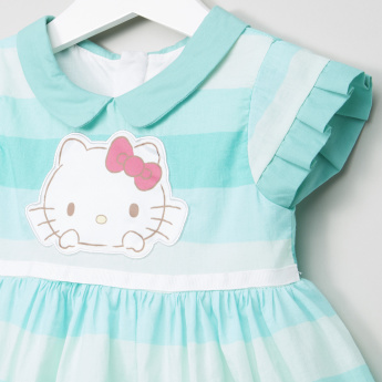 Sanrio Hello Kitty Striped A-line Dress