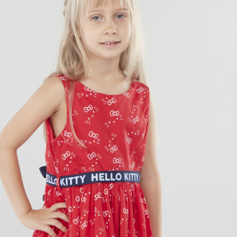 Sanrio Hello Kitty Sleeveless Printed Dress