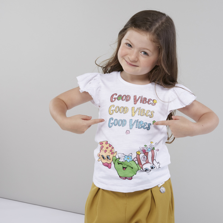 Good Vibes Graphic Print T-shirt