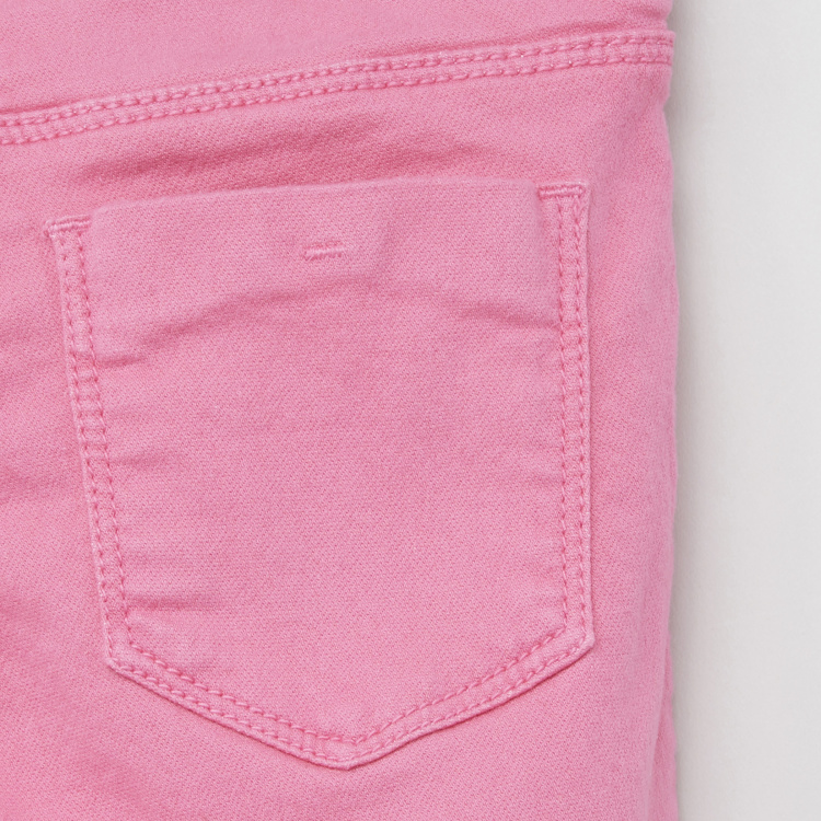 Juniors Pocket Detail Jeggings with Elasticised Waistband