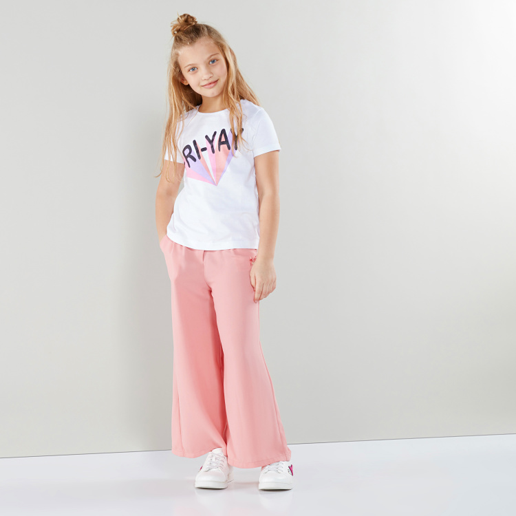 Eligo Button Closure Pants