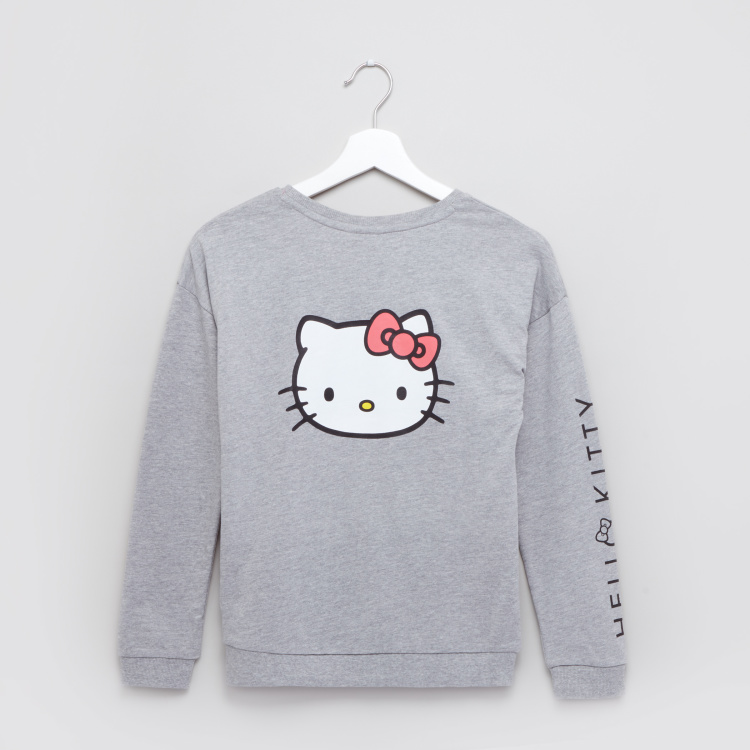 Hello Kitty Printed Sweat Top