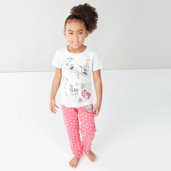 Hasbro My Little Pony Printed T-Shirt and Pyjama Set