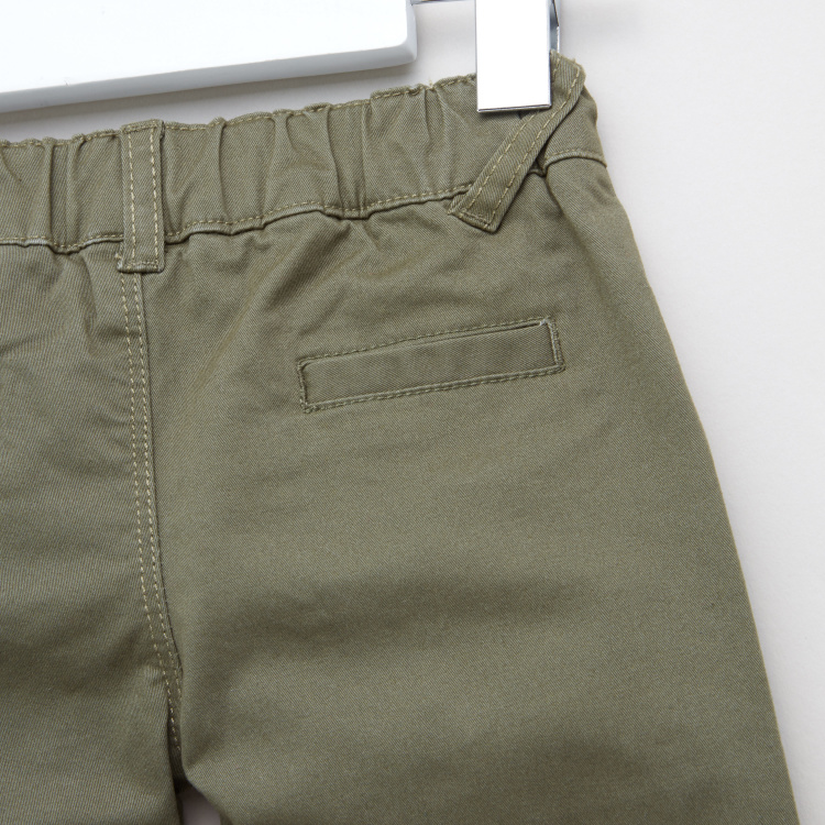 Juniors Plain Pants with Pocket Detail and Belt Loops