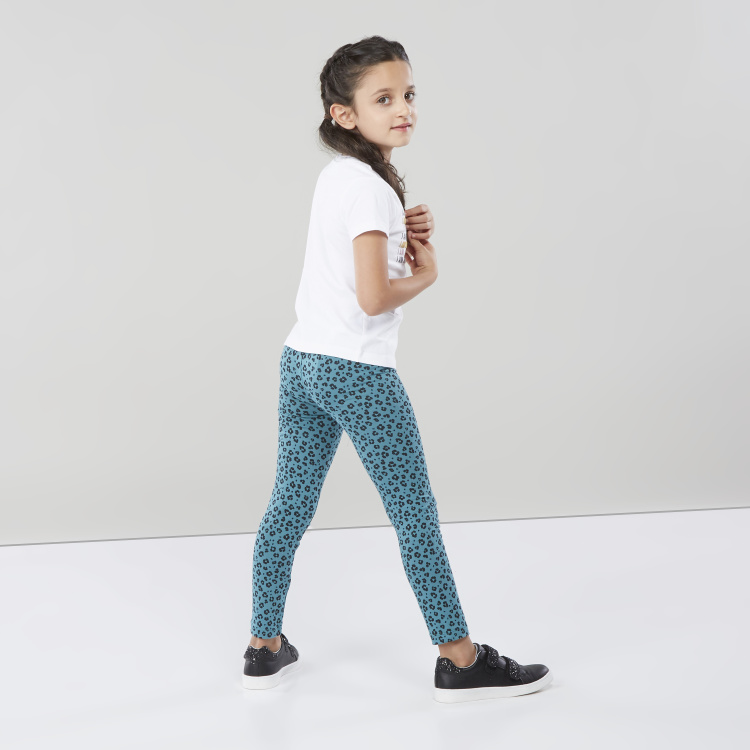 Juniors Animal Printed Leggings
