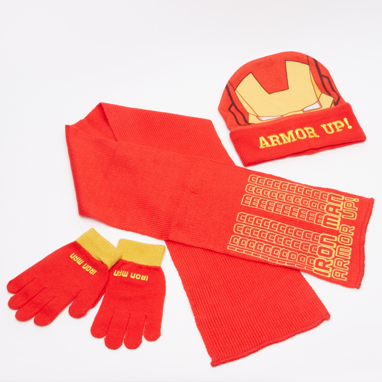 Iron Man Printed 3-Piece Accessory Set