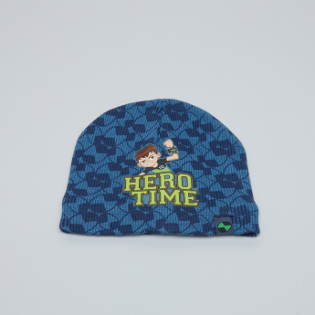 Ben 10 Printed Winter Cap