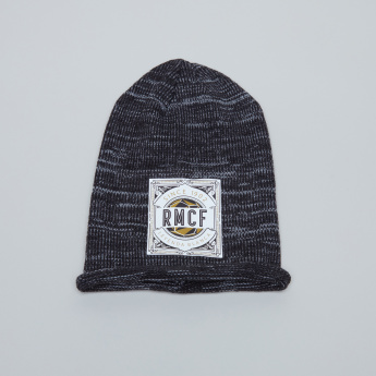 Real Madrid Printed Winter Beanie Cap