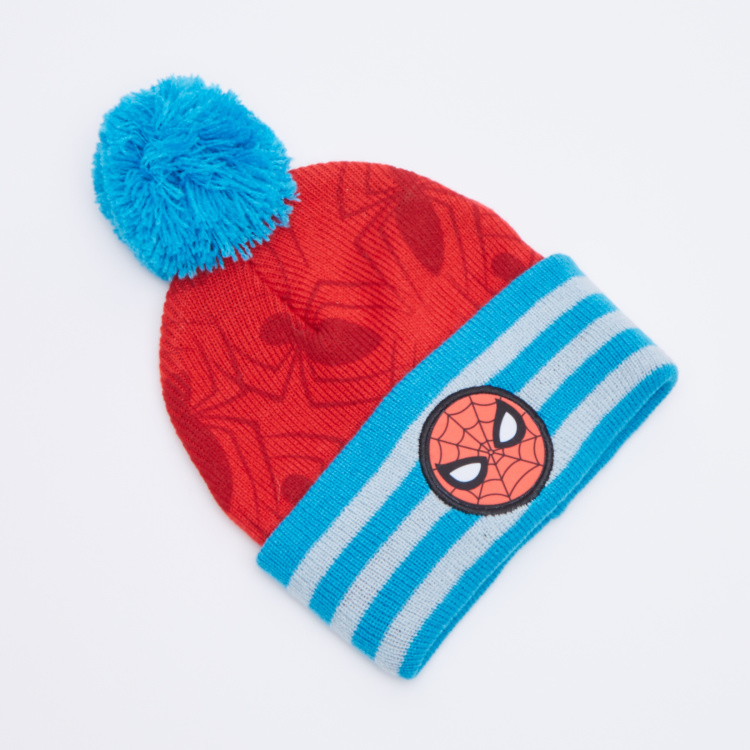 Spider-Man Printed 3-Piece Winter Accessory Set