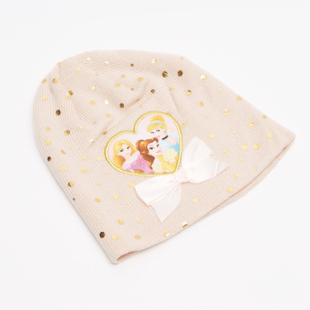 Disney Princess Printed Cap with Scarf
