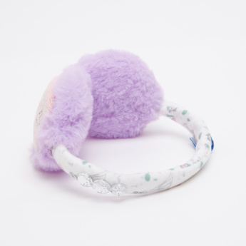 Frozen Printed Plush Earmuffs