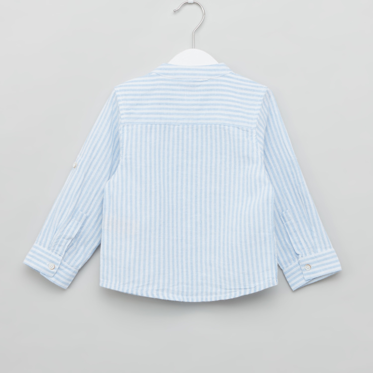 Giggles Striped Shirt with Long Sleeves