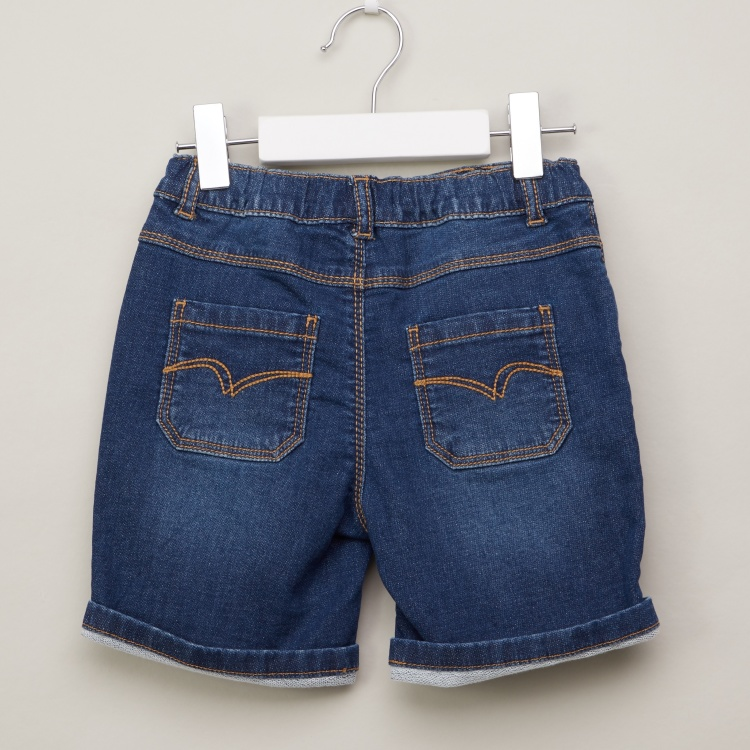 Lee Cooper Denim Shorts with Pocket Detail