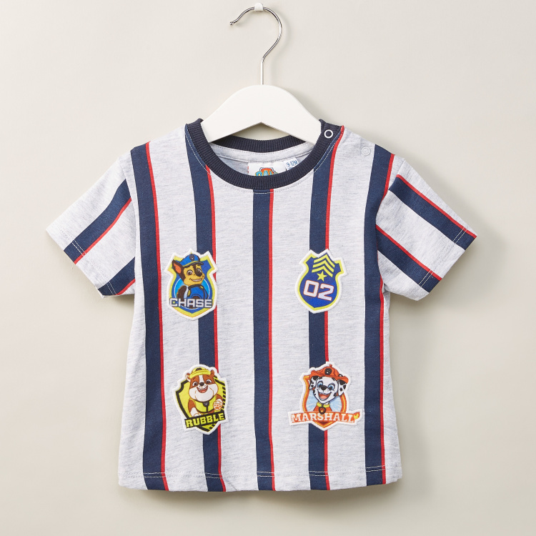 PAW Patrol Applique Detail T-shirt with Pocket Detail Shorts