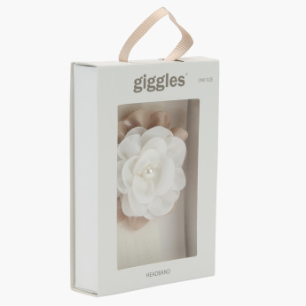 Giggles Flower Detail Headband