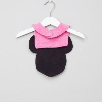 Minnie Mouse Applique Detail Bib