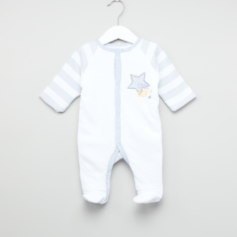 Juniors Raglan Sleeves Closed Feet Sleepsuit