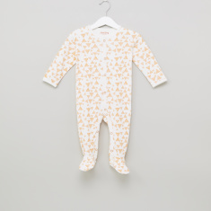 Juniors Printed Closed Feet Sleepsuit