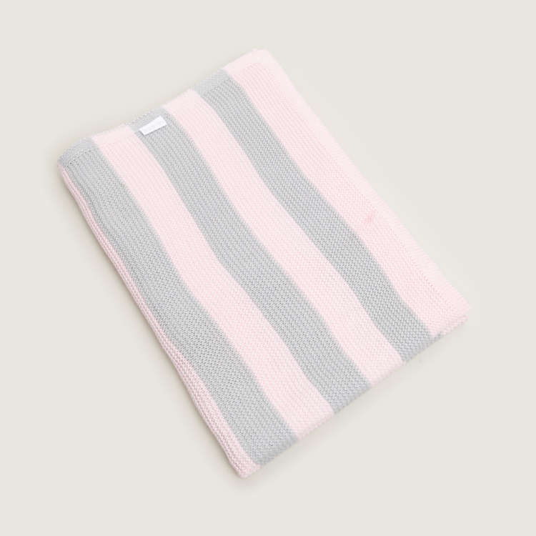 Giggles Striped Blanket - 76x102 cms
