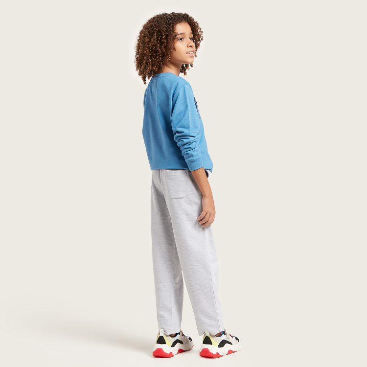 Juniors Solid Pants with Pockets and Drawstring