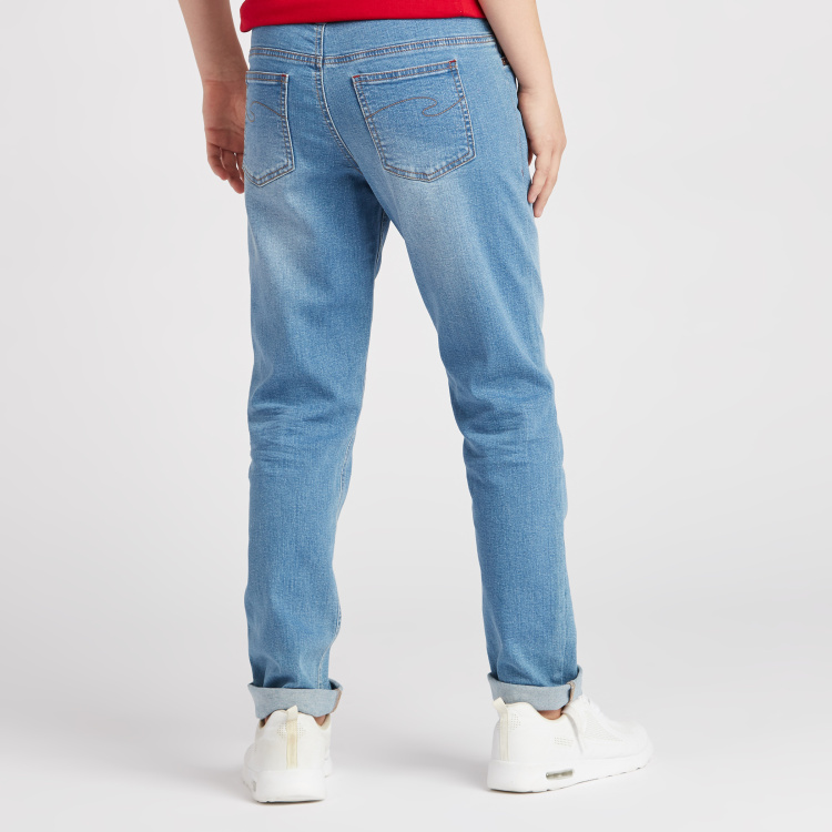 Lee Cooper Jeans with Pockets and Button Closure