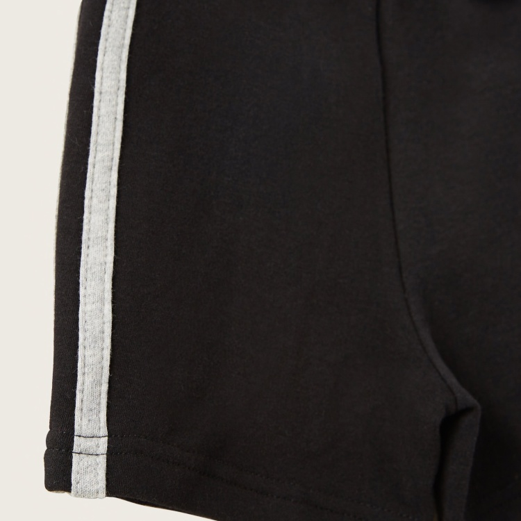 Juniors Side Tape Detail Shorts with Elasticised Waistband