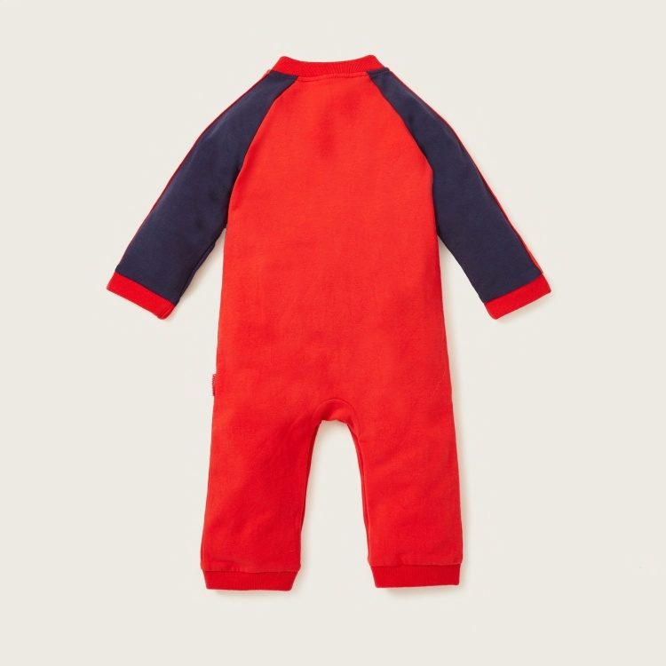 Juniors Sleepsuit with Round Neck and Long Sleeves