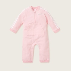 Juniors Sleepsuit with Long Sleeves and Kangaroo Pocket