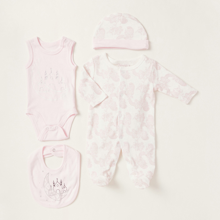 Juniors Printed 4-Piece Clothing Gift Set